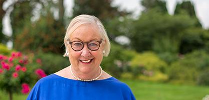Frau Gierden-Jülich ist stellvertretende Vorsitzende des Kuratoriums.